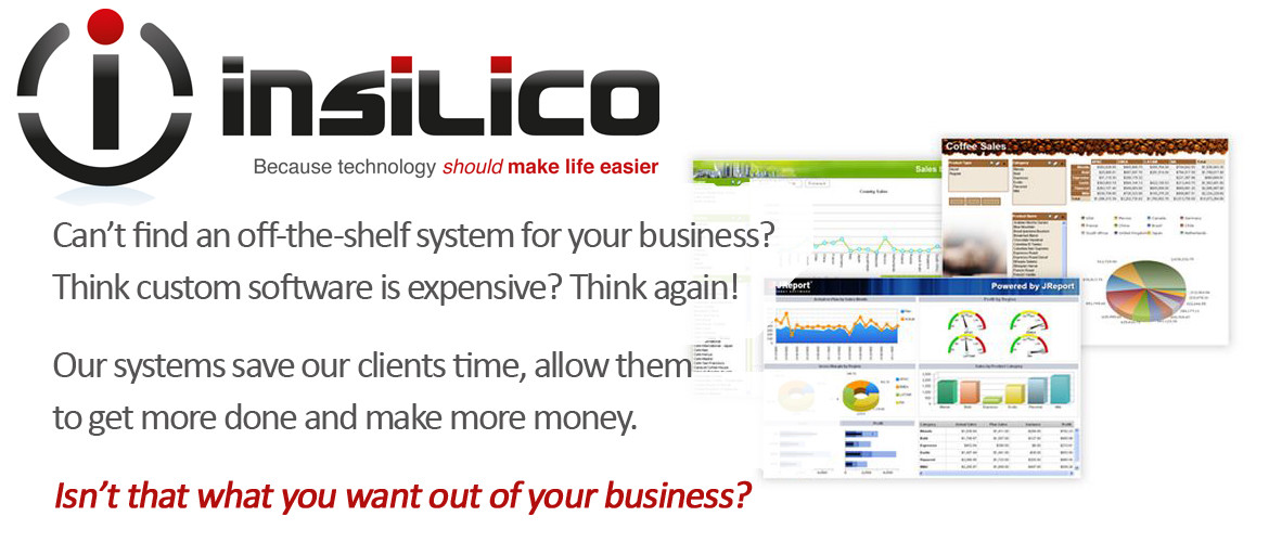 insilico Business Systems - When off-the-shelf doesn't quite fit