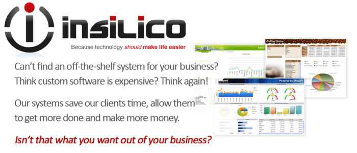 insilico Business Systems - A small change can make a BIG DIFFERENCE!